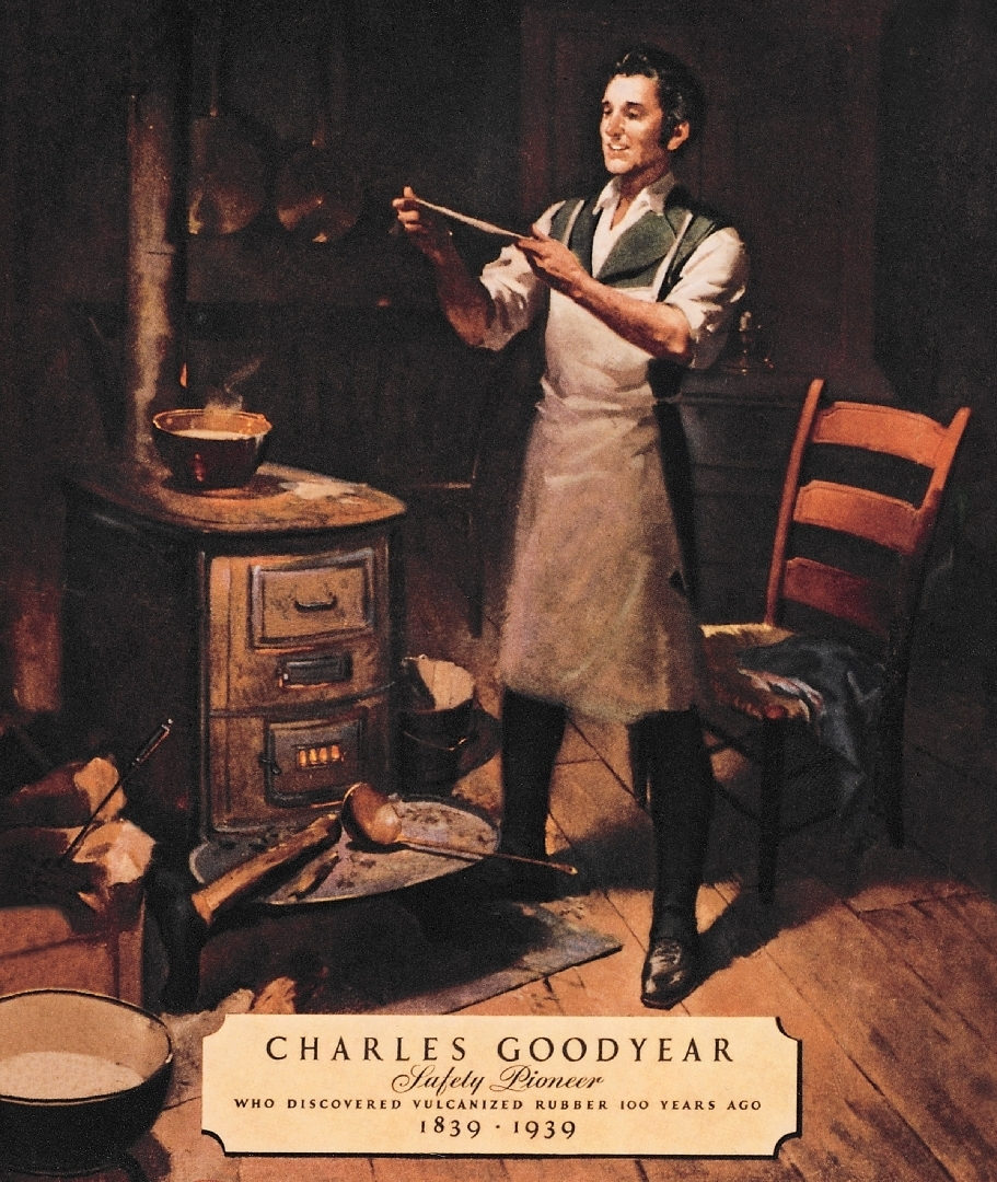 a biography and life work of charles goodyear Charles goodyear died at 59 in 1860, $200,000 in debt the goodyear tire and rubber co, founded in akron, ohio, in 1898, was named in his honor and the goodyear blimp bears his name ann marie somma has worked as a print reporter for several newspapers in connecticut including the hartford courant.