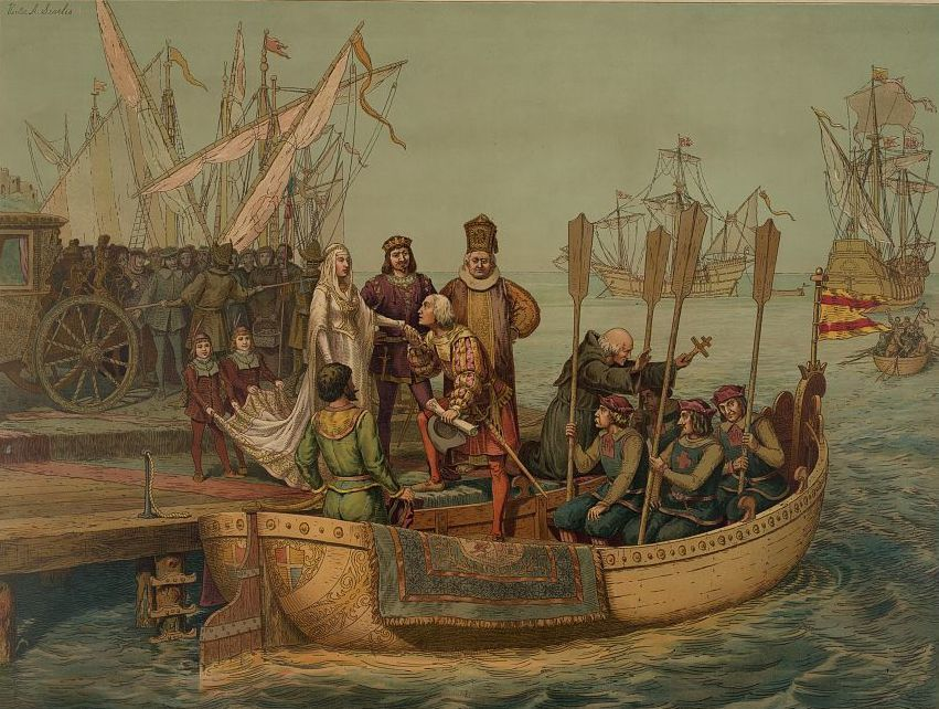 an introduction to the life and history of columbus in 1492
